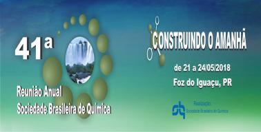 41 Reunião Anual da Sociedade Brasileira de Química